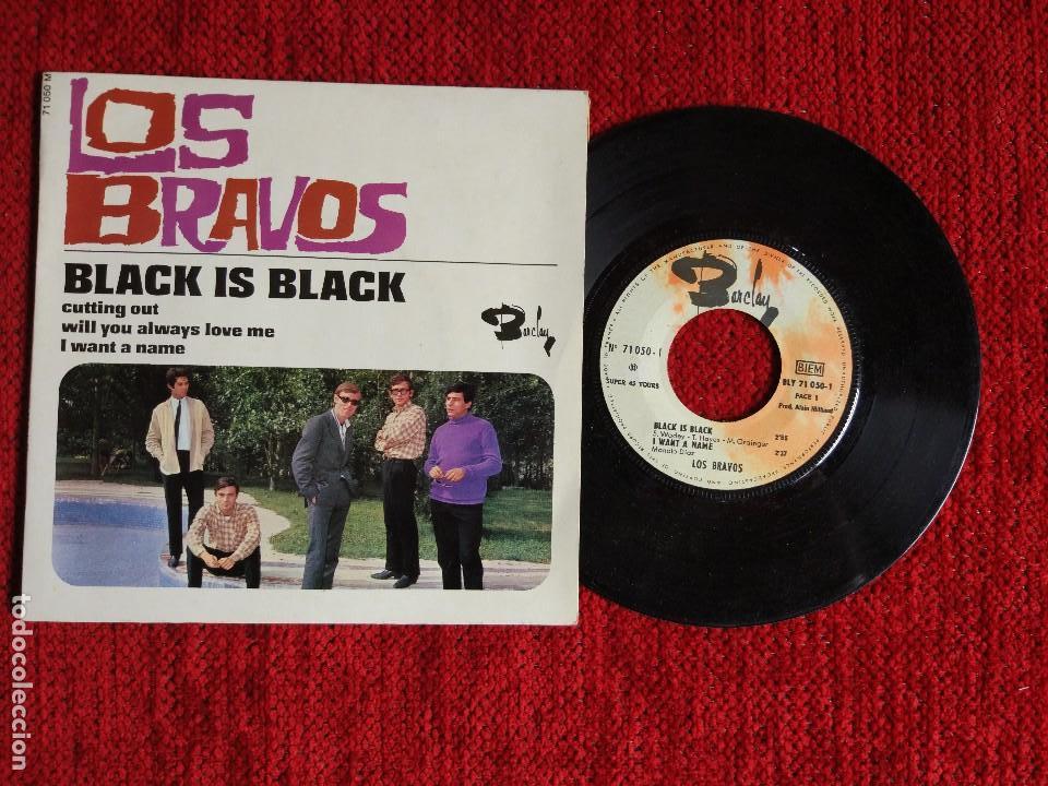 LOS BRAVOS BLACK IS BLACK EP FRANCÉS (Música - Discos - Singles Vinilo - Grupos Españoles 50 y 60)