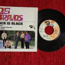 Discos de vinilo: LOS BRAVOS BLACK IS BLACK EP FRANCÉS. Lote 96491991
