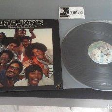Discos de vinilo: BAR-KAYS ?– FLYING HIGH ON YOUR LOVE LP MERCURY ?– SRM-1-1181 EDICIÓN USA. Lote 96495943