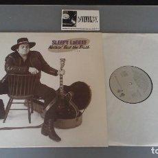 Discos de vinilo: SLEEPY LABEEF ?– NOTHIN' BUT THE TRUTH LP BARSA PROMOCIONES ?– 0003 FIRMADO. Lote 96500471