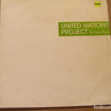 Dischi in vinile: UNITED NATIONS PROJECT – ON YOUR OWN - NSOLENT TRACKS 1999 - MAXI - P. Lote 96505651
