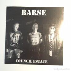 Discos de vinilo: BARSE - COUNCIL ESTATE - PUNK. Lote 96507118