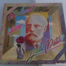 Discos de vinilo: LP VINILO JULIO MATITO - ¡SALUD! PSOE - ORIG. GATEFOLD PROG - SMASH TRIANA - MUY RARO - POKORA!!!!. Lote 96512903