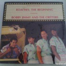 Discos de vinilo: LP VINILO BOBBY JIMMY & THE CRITTERS - ROACHES - RAP HIP HOP OLD SCHOOL - ORIG. USA 1987 - RARÍSIMO!. Lote 96514591