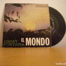 Discos de vinilo: EP VINILO - JIMMY FONTANA - IL MONDO - 1965 - RCA VICTOR - 3-20918. Lote 96522207