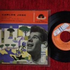 Discos de vinilo: CARLOS JOSÉ+ EP EU E DEUS 1959. Lote 96527747