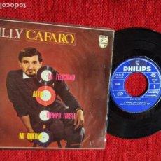 Discos de vinilo: BILLY CAFARO+ EP LA FELICIDAD +PORTADA RARÍSIMA. Lote 96528171