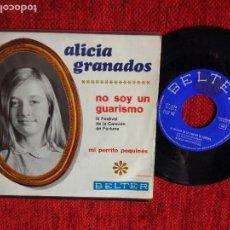 Discos de vinilo: ALICIA GRANADOS +NO SOY UN GUARISMO. Lote 96528387