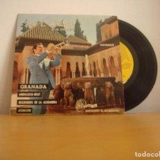 Discos de vinilo: EP VINILO - JOSE LUIS HIDALGO Y SU TROMPETA - GRANADA - 1971 - SINTONIA - E.P. 301-101 - VER DESCRIP. Lote 96528695