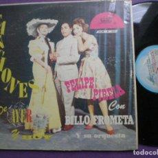 Discos de vinilo: FELIPE PIRELA CON BILLO FROMETA Y ORQUESTA - CANCIONES DE AYER Y HOY - LP BILLO DISCOMODA. Lote 96529051