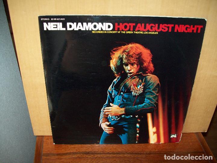 Neil Diamond Hot August Night Doble Kaufen Vinyl Schallplatten