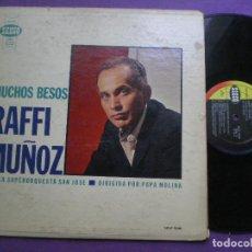 Disques de vinyle: RAFFI MUÑOZ CON LA SUPERORQUESTA SAN JOSE - MUCHOS BESOS - LP USA SEECO 196?. Lote 96532635