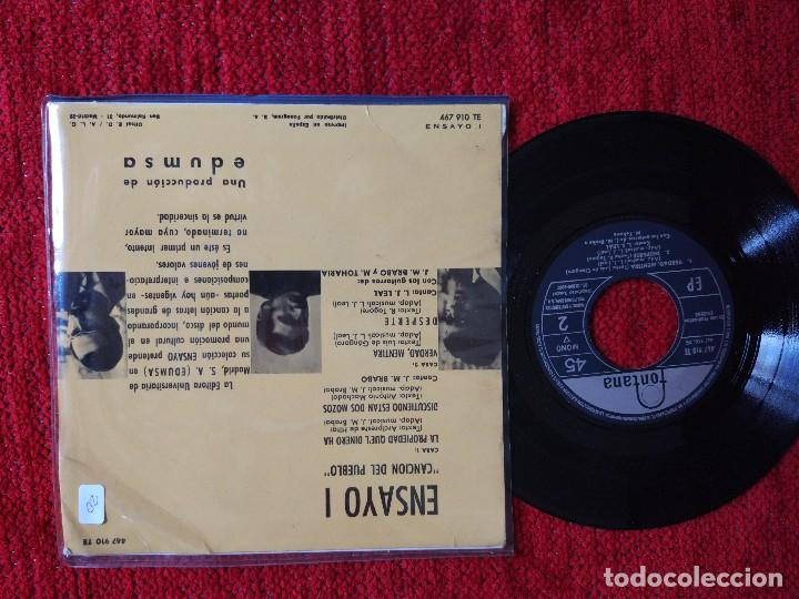 Discos de vinilo: ENSAYO 1 ep LA PROPIEDAD QUE'L DINERO HA - Foto 2 - 96537987