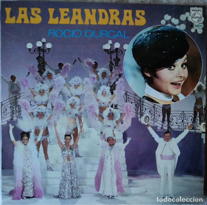 ROCÍO DÚRCAL - LAS LEANDRAS - EDICIÓN DE 1969 DE ESPAÑA (Música - Discos - LP Vinilo - Solistas Españoles de los 50 y 60)