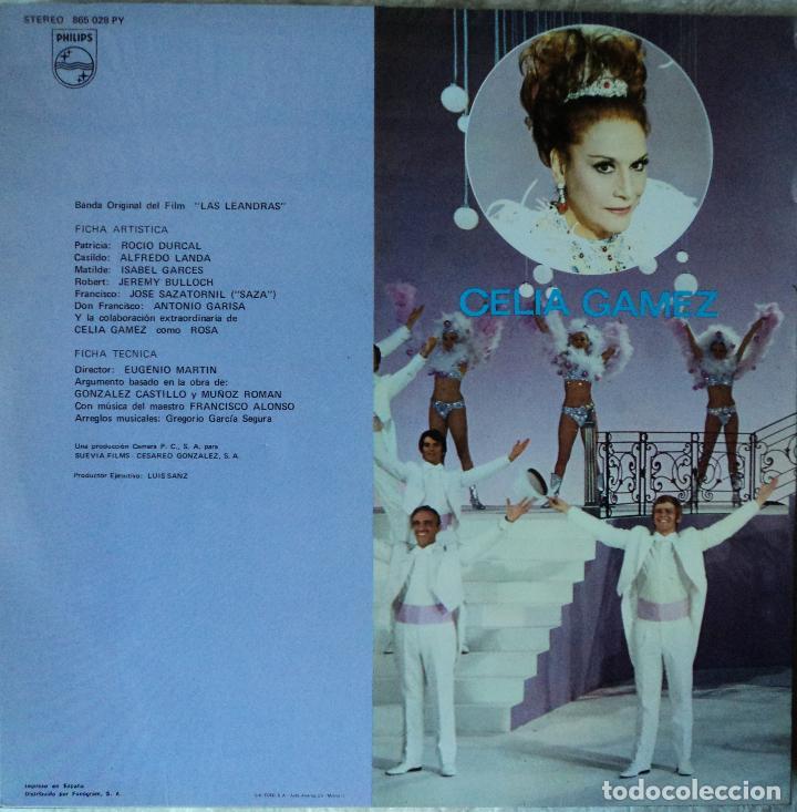 Discos de vinilo: Rocío Dúrcal - Las Leandras - Edición de 1969 de España - Foto 2 - 96538059