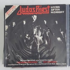 Discos de vinilo: MAXI JUDAS PRIEST - LIVING AFTER MIDNIGHT - UK EDITION. Lote 96539355