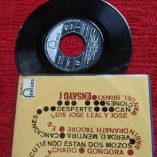 Discos de vinilo: ENSAYO 1 EP LA PROPIEDAD QUE'L DINERO HA. Lote 96537987