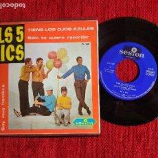 Discos de vinilo: ELS 5 XICS EP TIENE LOS OJOS AZULES. Lote 96538151