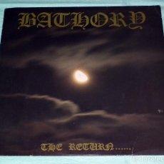 Discos de vinilo: LP BATHORY - THE RETURN..... . Lote 96543423