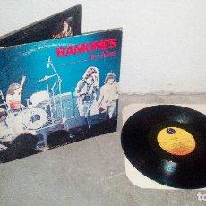 Discos de vinilo: RAMONES ITS ,ALIVE. Lote 96549423