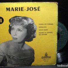 Discos de vinilo: MARIE JOSE TANGO DES PYRENEES + ANDALUCIA + 2 EP ODEON FRANCE. Lote 96549575