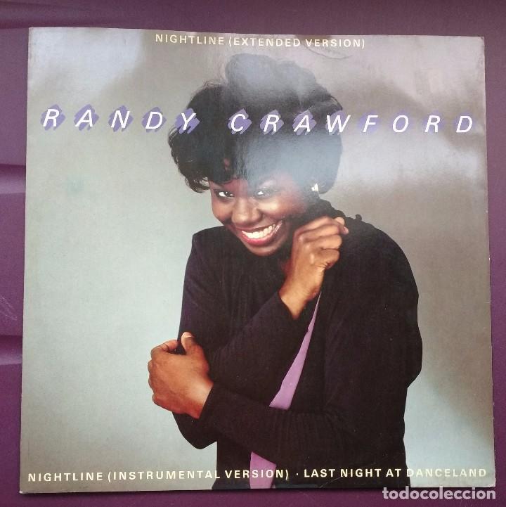 RANDY CRAWFORD - NIGHTLINE. EDICION UK (Música - Discos de Vinilo - Maxi Singles - Funk, Soul y Black Music)