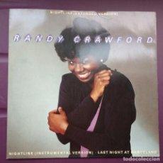 Discos de vinilo: RANDY CRAWFORD - NIGHTLINE. EDICION UK. Lote 96551847