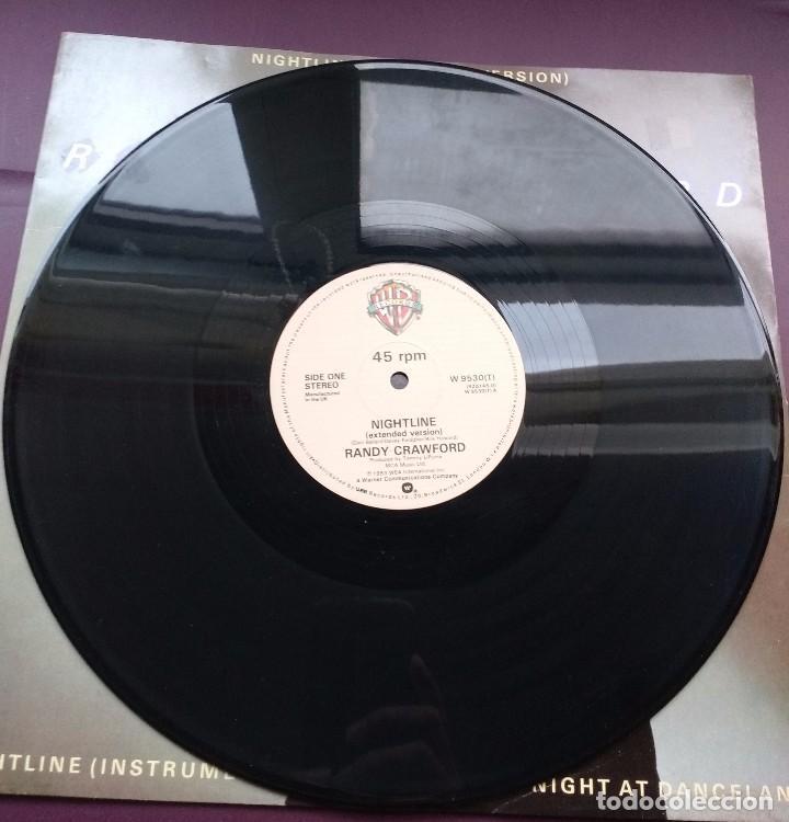 Discos de vinilo: RANDY CRAWFORD - NIGHTLINE. EDICION UK - Foto 2 - 96551847