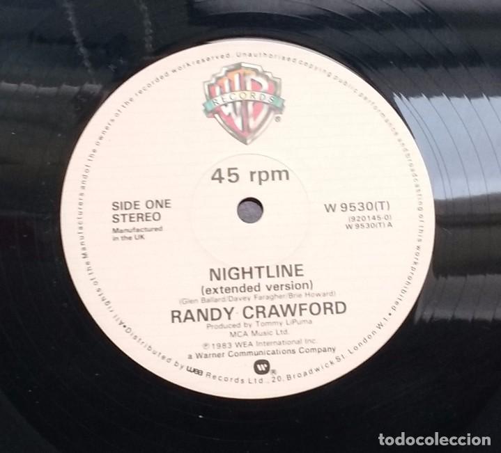 Discos de vinilo: RANDY CRAWFORD - NIGHTLINE. EDICION UK - Foto 3 - 96551847