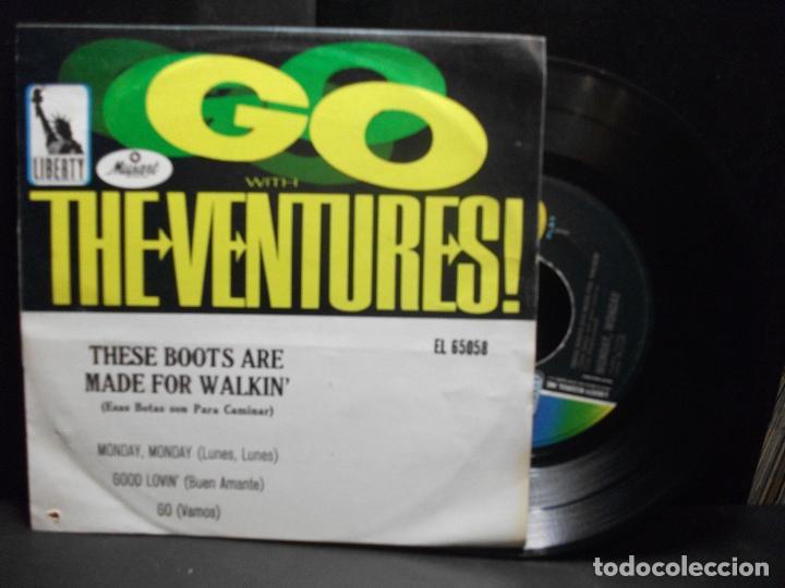 THE VENTURES MONDAY MONDAY/GOOD LOVIN..... EP MEJICO PDELUXE (Música - Discos de Vinilo - EPs - Pop - Rock Extranjero de los 70)