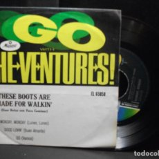 Discos de vinilo: THE VENTURES MONDAY MONDAY/GOOD LOVIN..... EP MEJICO PDELUXE. Lote 96553571