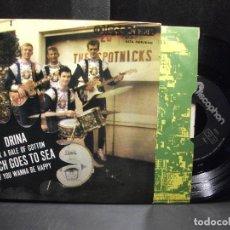 Discos de vinilo: THE SPOTNICKS DRINA + 3 EP SPAIN 1964 PDELUXE. Lote 96554083
