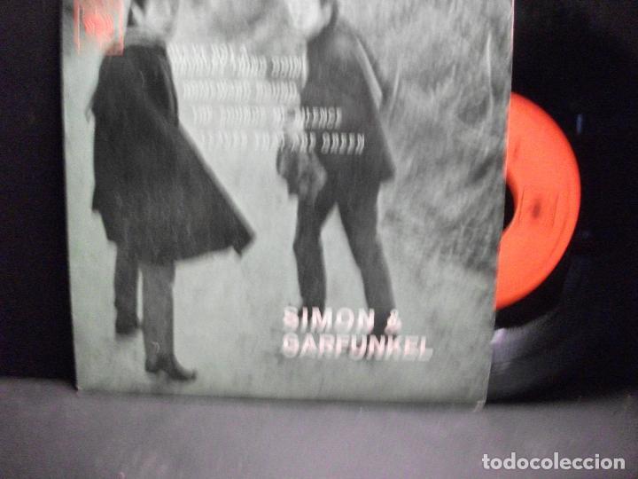 SIMON & GARFUNKEL THE SOUNDS OF SILENCE + 3 EP SPAIN PDELUXE (Música - Discos de Vinilo - EPs - Pop - Rock Extranjero de los 70)