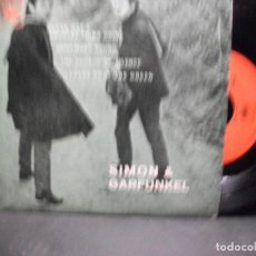 Discos de vinilo: SIMON & GARFUNKEL THE SOUNDS OF SILENCE + 3 EP SPAIN PDELUXE. Lote 96554383