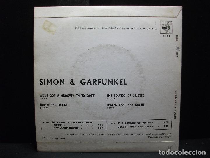 Discos de vinilo: SIMON & GARFUNKEL THE SOUNDS OF SILENCE + 3 EP SPAIN PDELUXE - Foto 2 - 96554383