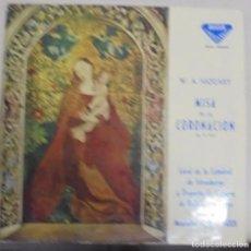 Discos de vinilo: MISA DE LA CORONACION. W.A.MOZART. 1961. DECCA. Lote 96565271