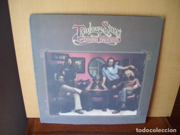THE DOOBIE BROTHERS - TOULOUSE STREET - LP 1972 CARPETA ABIERTA FABRICADO EN USA (Música - Discos - LP Vinilo - Pop - Rock - Extranjero de los 70)