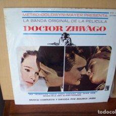 Discos de vinilo: DOCTOR ZHIVAGO - MUSICA DE MAURICE JARRE - LP 1966 BANDA SONORA ORIGINAL. Lote 96578359