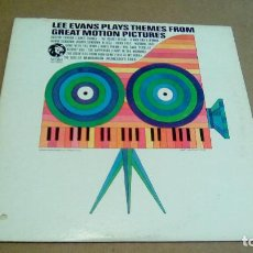 Discos de vinilo: LEE EVANS - PLAYS THEMES FROM GREAT MOTION PICTURES (LP MGM RECORDS E 4460). Lote 96579851