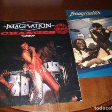 Discos de vinilo: IMAGINATION LOTE DOS MAXIS- / MUSICA Y LUCES / CAMBIOS / . Lote 96582367