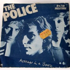 Discos de vinilo: THE POLICE. MESSAGE IN A BOTTLE. Lote 96591635