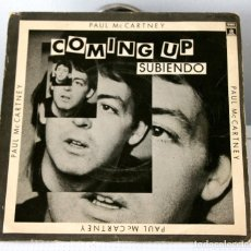 Discos de vinilo: PAUL MCCARTNEY. COMING UP. Lote 96592091