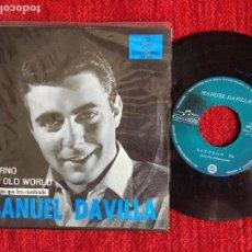 Discos de vinilo: MANUEL DÁVILLA + RETORNO. Lote 96601055