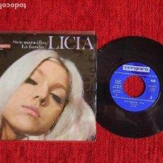 Discos de vinilo: LICIA +SIETE MARAVILLAS. Lote 96601559