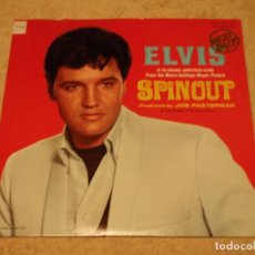 Discos de vinilo: ELVIS PRESLEY ( SPINOUT ) USA - 1980 LP33 RCA. Lote 96606103