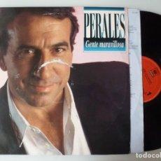 Discos de vinilo: JOSE LUIS PERALES - GENTE MARAVILLOSA (LP CBS/SONY 1993). Lote 96607483