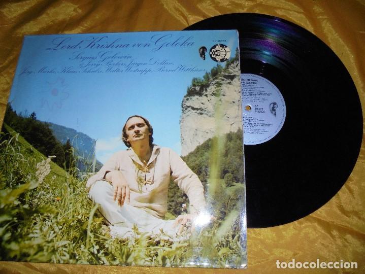 SERGIUS GOLOWIN. LORD KRISHNA VON GOLOKA. OHR. KK 58002. KRAUTROCK. EDICION ALEMANA 1973 (Música - Discos - LP Vinilo - Rock & Roll)