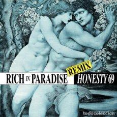 Discos de vinil: HONESTY 69 - RICH IN PARADISE (REMIX) - BCM RECORDS - 14373 GERMANY. Lote 96619731