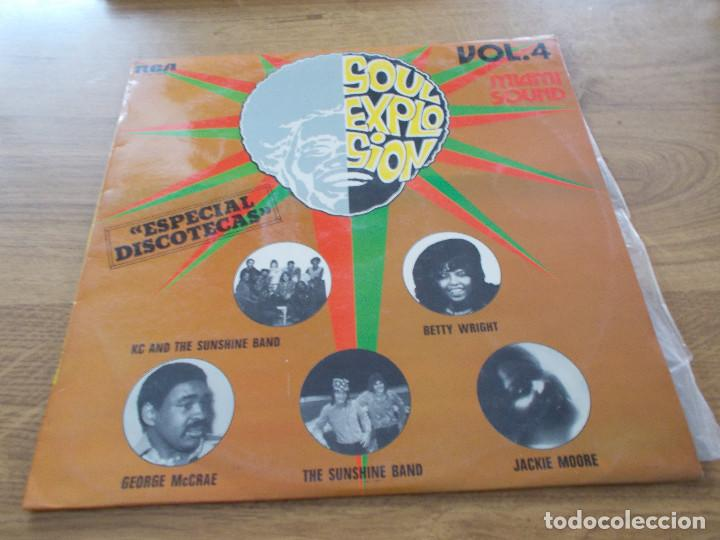 SOUL EXPLOSION.VOL 4. MIAMI SOUND (Música - Discos - LP Vinilo - Disco y Dance)