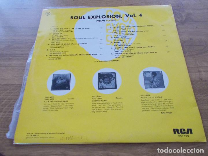 Discos de vinilo: SOUL EXPLOSION.VOL 4. MIAMI SOUND - Foto 2 - 96622963